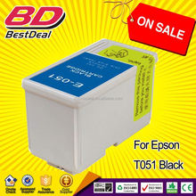 Buy direct from china manufacturer wholesale ink cartridge for epson T051 T053
