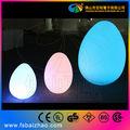 Led bola de huevo, led lámpara de decoración para al aire libre de interior