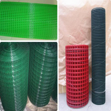 PVC plastic coated welded wire mesh for making crab trap 2015