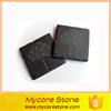 Custom design natural black slate coffee coasters with high quality