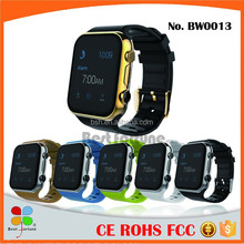 Big Touch Screen Smart Phone Watch Android System Smart Bracelet Titanium Alloy Frame