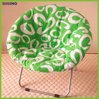 new design and hot selling round adult folding moon chair HQ-9002-92