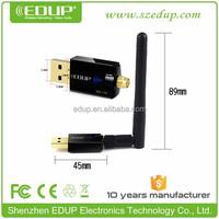 China Factory 300Mbps Realtek rtl8192 Mini Wireless Wifi Receiver 802.11N USB Long Range WiFi Adapter EP-MS1559