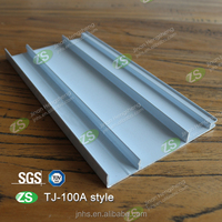 100mm Width Aluminum Alloy Interior Decorative Wall Skirting Board for Kitchen Cabinet