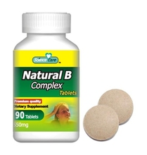 550mg Natural B Complex Tablet pills FOR VERGETARIAN