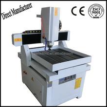 Aluminum copper brass steel cnc router metal engraving machine 6060
