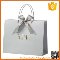 luxury wholesale custom cheap paper shopping bags with logo