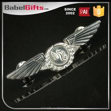 Factory direct sale custom metal crown logo badge embleming