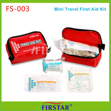 High quality fire and safety custom mini first aid kit bag for factory office and family