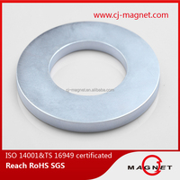 N35H TS16949 arc neodymium magnet for motor manufactuer in China
