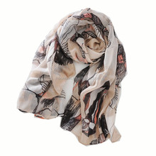 100% polyester sheer infinity scarf