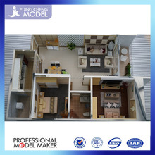 3d models furniture of architectural building scale model