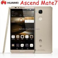 Original huawei ascend mate 7 Octa Core 6inch 1920x1080 FHD 3G 32G 4100mAh 4G LTE Huawei Mate7 Smartphone
