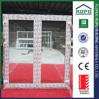 UPVC wood color main american entry door