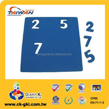 Magnetic EVA foam number for children education toys