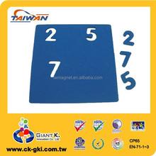 Magnetic EVA foam number puzzle for children education toys