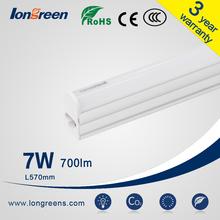 New modern Linear T5 LED Integrative Tube 1-8ft custom 7-60w t5 7w daylight fluorescent light CE RoHS SAA