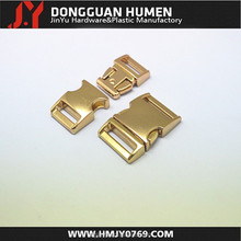 High quality metal side release buckle , side release curved metal buckle, quick release buckle for dog collars