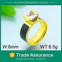 solid 14kt yellow gold ring diamond yellow citrine engagement ring