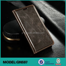 Leather case mobile phone cover for Samsung Galaxy Note 5