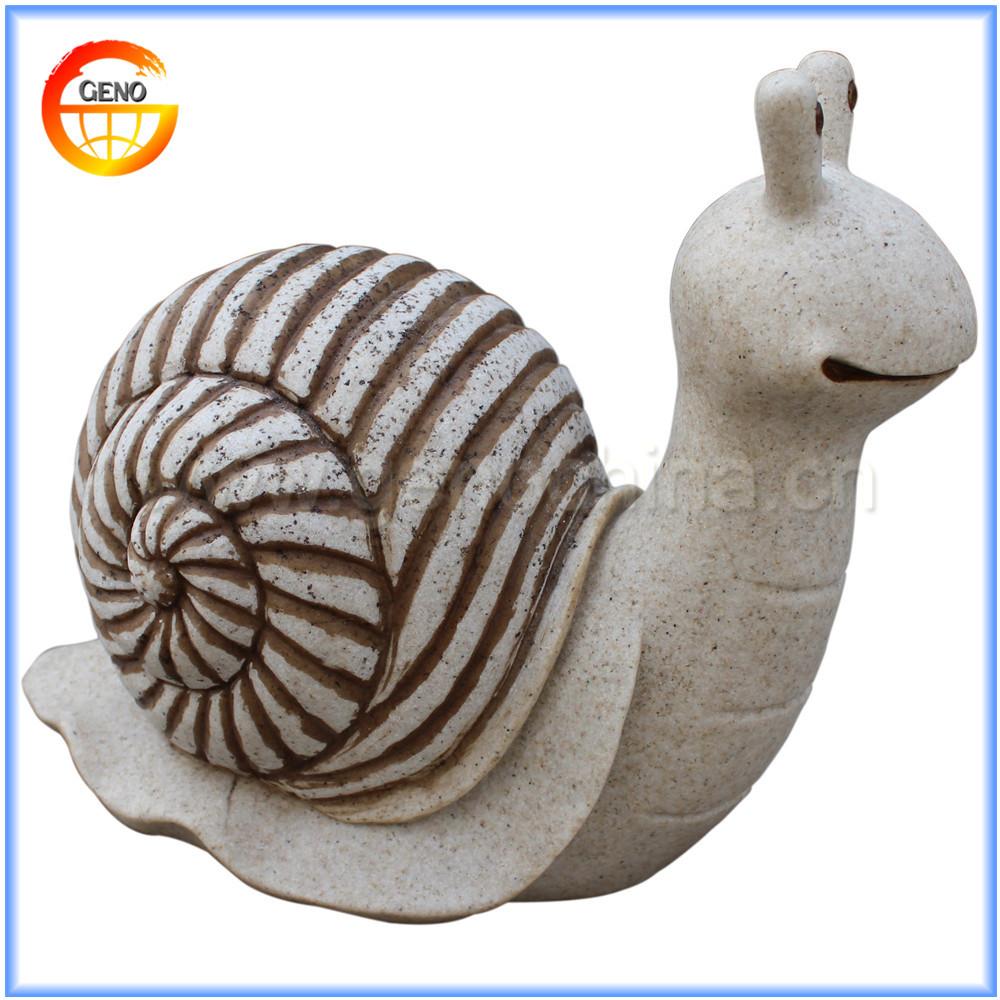 Mignon gr s fini jardin d coration r sine escargot for Escargot decoration jardin
