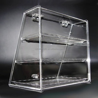 Acrylic foot wear display stands/case cabinet/acrylic food donuts pastrys