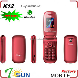 made in china k12 flip cell phone