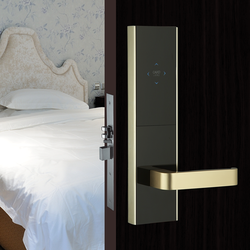smart swipe card electronic door lock intelligent door lock for hotel room