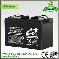 high performance ups battery 12v100ah
