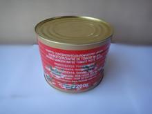 Vente chaude chine pâte de tomate sauce ketchup usine 140 g double concentré conserve fabricant