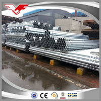 high quality scaffolding system hot galvanized steel pipe 48.3mm