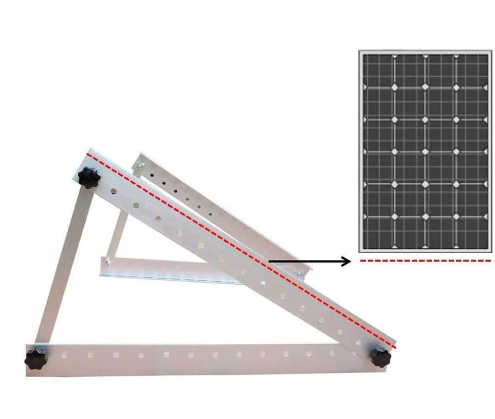 Painel Solar Z Suporte De Montagem Montagem Em Telhado