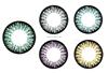Lush illume monthly luxury cosmetic big eye colour contact lenses