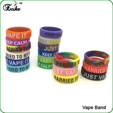 E cig vaporizer disposable e cig Ecig accessories colorful vape band mad hatter rda silicone ring Vape band silicone vape band
