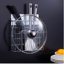 Household Wall Mounted Metal Fork And Knife Rack