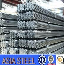 Negro galvanizado ángulo de acero / L perfil, ángulo de hierro