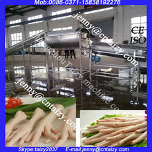 Chicken feet processing machine/Chicken feet peeling production line