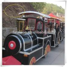 Corpo frp divertimento guidare i ragazzi sul treno/usato treno senza strade/trenino elettrico tabelle per la vendita