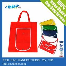 Non Woven Material /Fold style Non Woven Bag For Shopping Bags