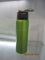 FDA, SGS approved aluminum bottle , 750ml bicycle aluminum sport drinking water bottle with straw