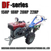 Hot sale diesel engine 2wd tractors with rotavator, good quality walking tractors with tilling hand for sale!