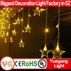 factory price fiber optic waterfall light curtain for christmas decoration waterfall light curtain