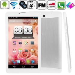 1024*600 HD Phone Call Cheap Dual Core Dual SIM 7inch 3G Android Phablet