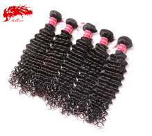 QHP virgin hair vendors paypal accept popular 2015 deep curly