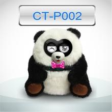 Wholesale plush toy panda for sale / custom talking plush panda toy
