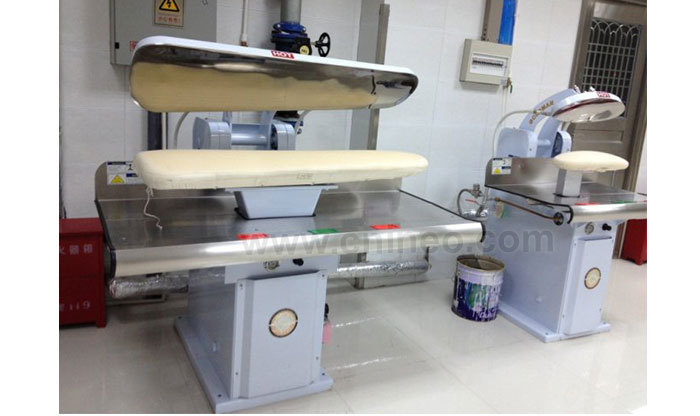heavy duty laundry clothes ironing machine ironing board industry