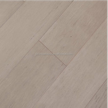 Grey Colour Wire Brushed Unilin Strand Woven Bamboo Flooring