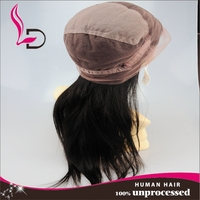 New Product High Quality Peruvian Human Virgin Remy Hair Full Lace Wig