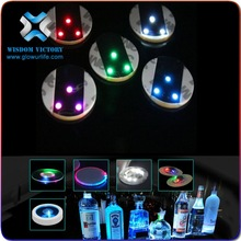 christmas Wedding Favors for Guests Battery Operated Hot sale Items Glow In The Dark Logo CustomCute Pvc Coaster