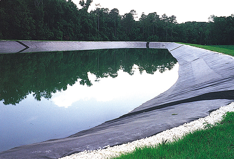 Hdpe Geomembrane Waterproof Black Hdpe Sheet For Pond